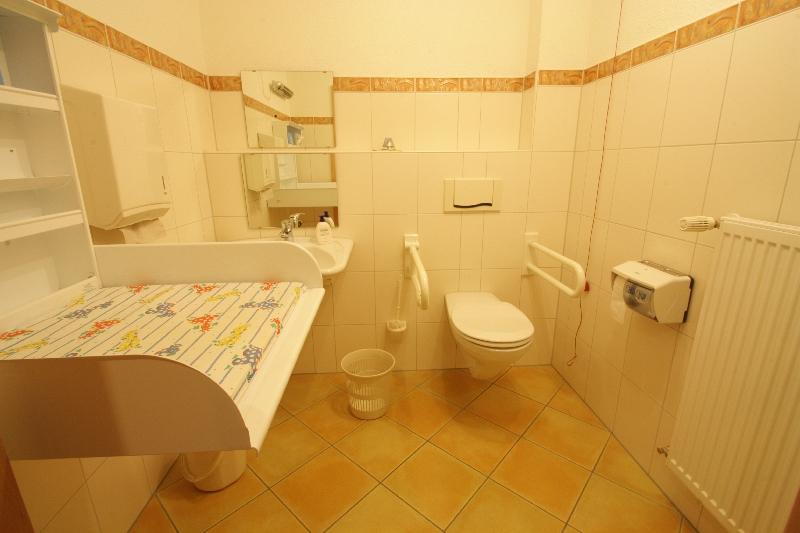 WC / Wickelraum